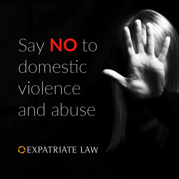 Say NO to domestic voilence and abuse