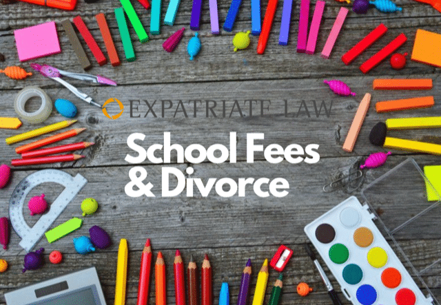School Fees and Divorce