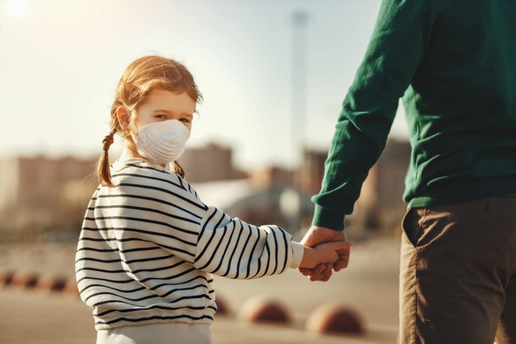 Child contact during coronavirus