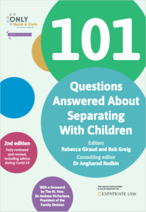 101 Questions Answered About Separating With Children - book cover image