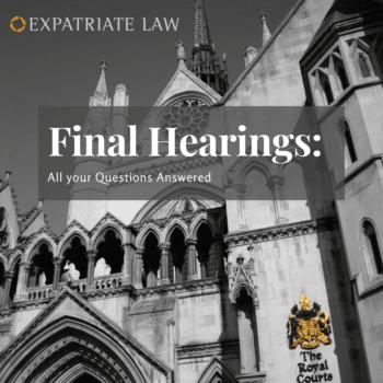 Final Hearings